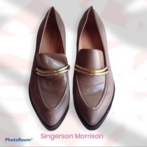SIGERSON MORRISON Savana Leather Loafers
